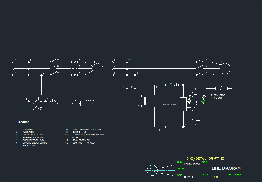 Sample of Electrical Drawings - Martin Irsaj